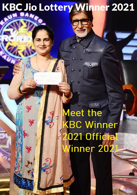 kbc lottery winner 2021